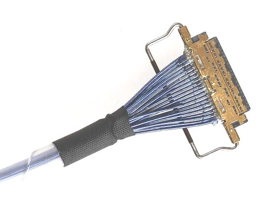 Bild 1 - Cable assembly Micro Coax AWG40 with IPEX Cabline-VS 20454