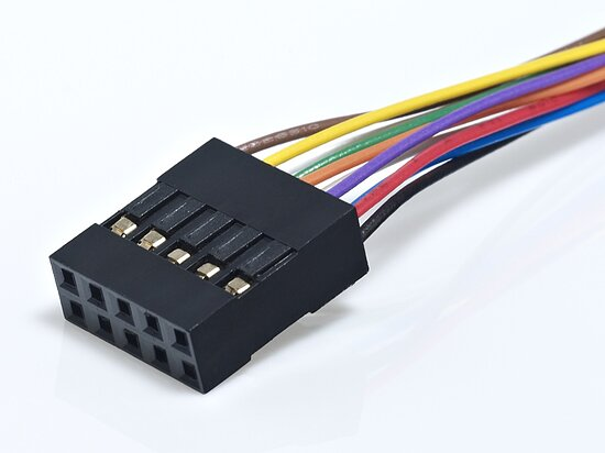 Bild 1 - Cable assembly with Molex Milli Grid 2,0mm
