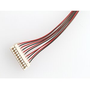 Cable assembly with ACES 91209 1,0mm