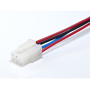 Cable assembly with Molex Mini-Fit
