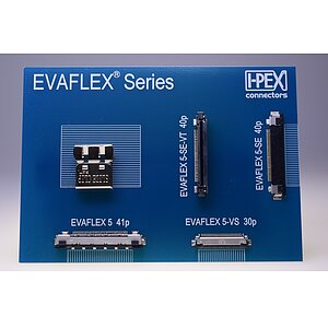 FFC/FPC-Connector Evaflex 5-VS 0,5mm horizontal Pitch with GND -40..+85°C